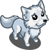 Farmville Mini Arctic Fox
