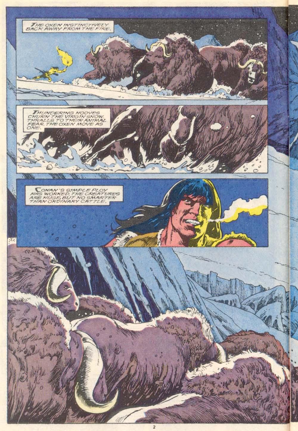 Conan the Barbarian (1970) Issue #220 #232 - English 4