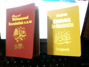 Pasport Rasulullah SAW dan Khulafak
