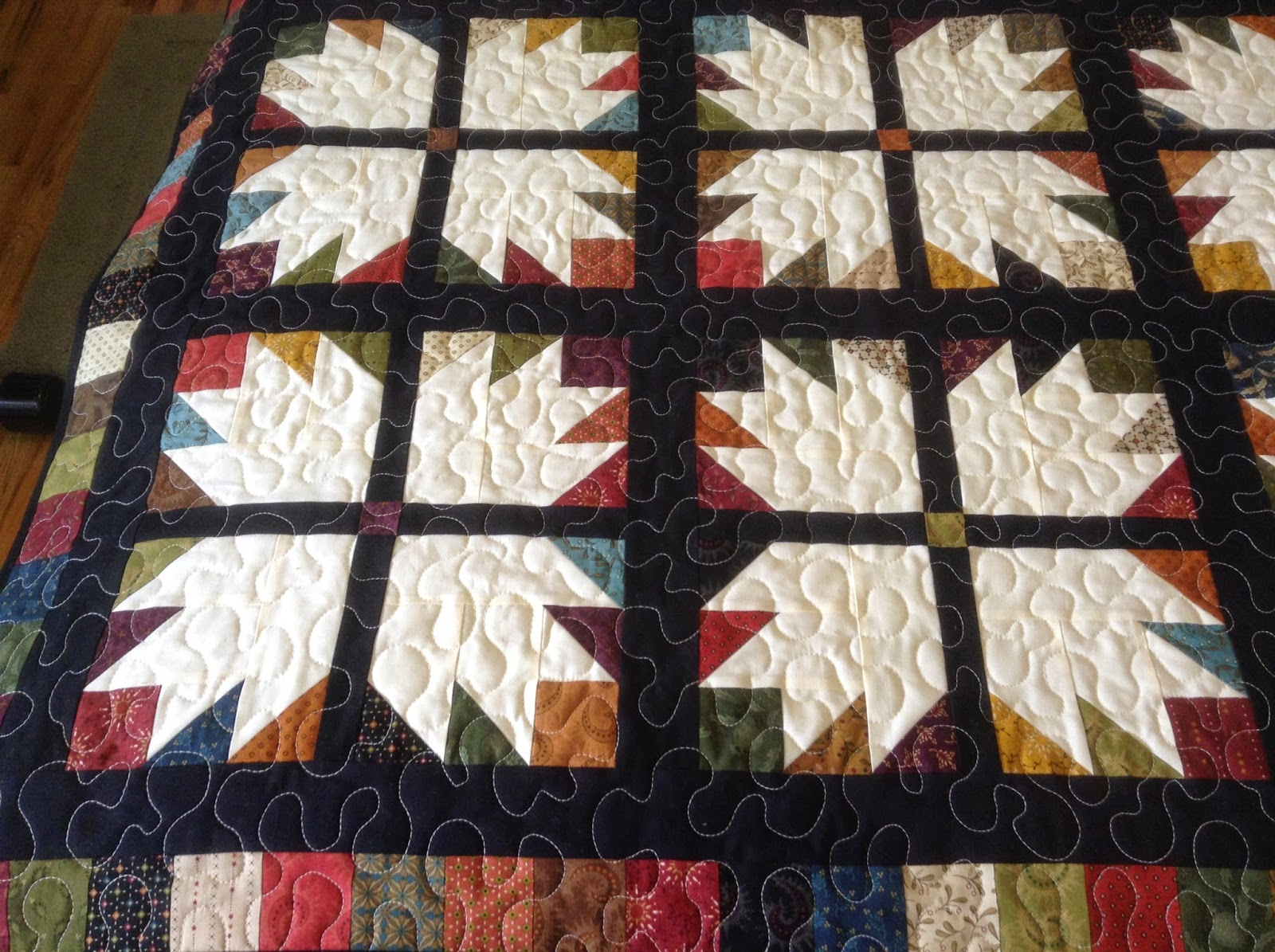 Grandma Helens Sewing Room The Bear Paw Quilt Missouri Star Quilt
