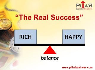 Cara gampang kaya dengan bahagia