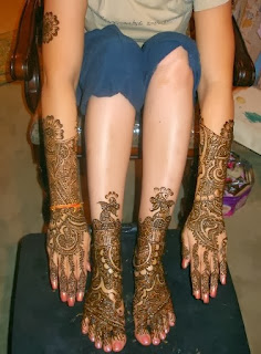 Indian Artistic Mehndi Designs