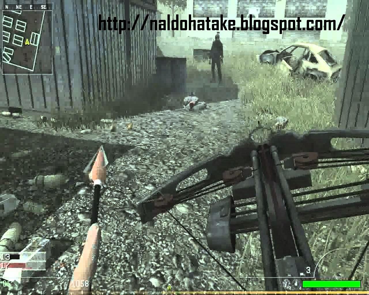 Bermain membunuh zombie di call of duty modern warfare 4