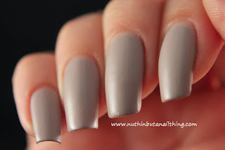 Barry M Matte Nail Paint Vanilla