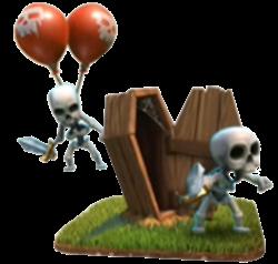 Karakter Skeleton Traps Pada Game Clash of Clans