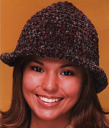 Vintage Crochet PATTERN Crocheted Bucket Hat Cap 1950s | eBay