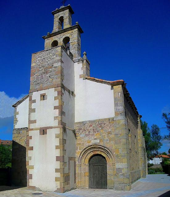 Iglesia de San Salvador en Nestares