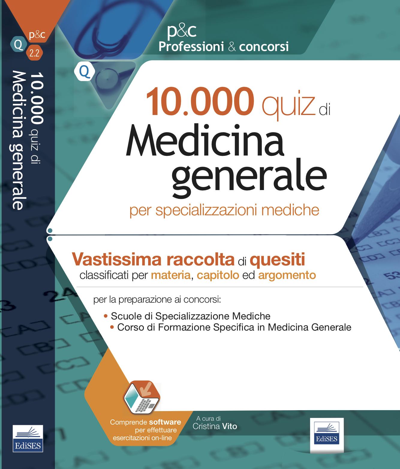 10.000 QUIZ DI MEDICINA GENERALE - SECONDA EDIZIONE - EDISES