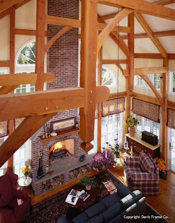 post and beam great room