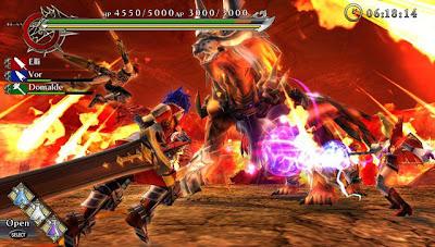 Ragnarok Odyssey PSP Vita Game Arts