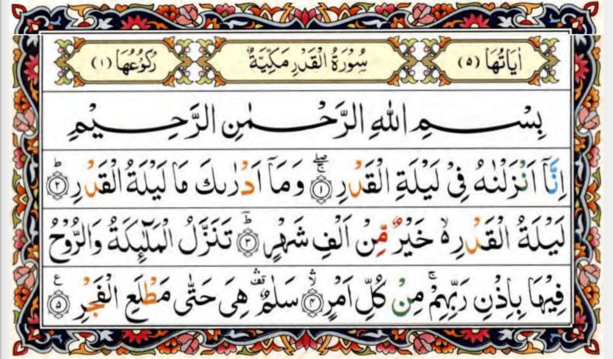 Kata Mutiara Terbaru 21 Lailatul Qadr Surah Inspirations