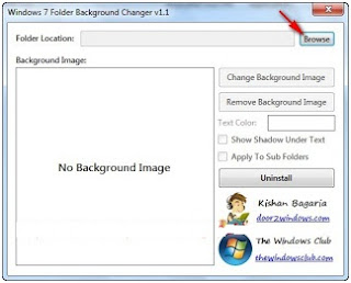 Cara mengubah gambar background folder pada explorer windows 7