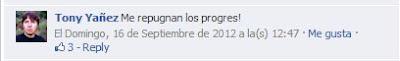 """""""Me repugnan los progres"""""""