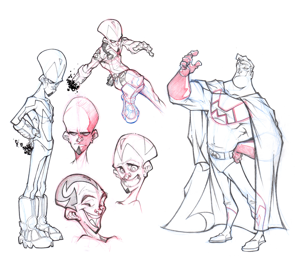 Character Design Vs Animation : Roy dan final semester
