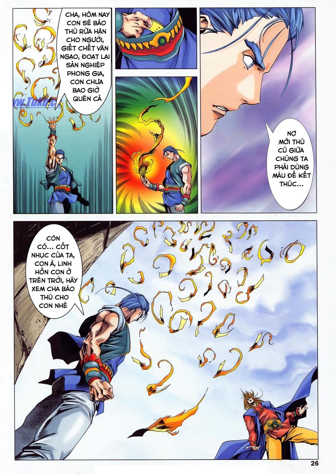 Lục Đạo Thiên Thư chap 36 - Trang 26