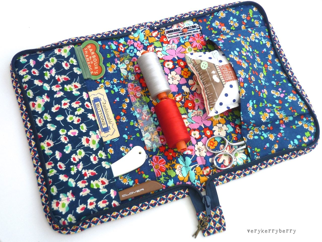 how to sew a travel wallet