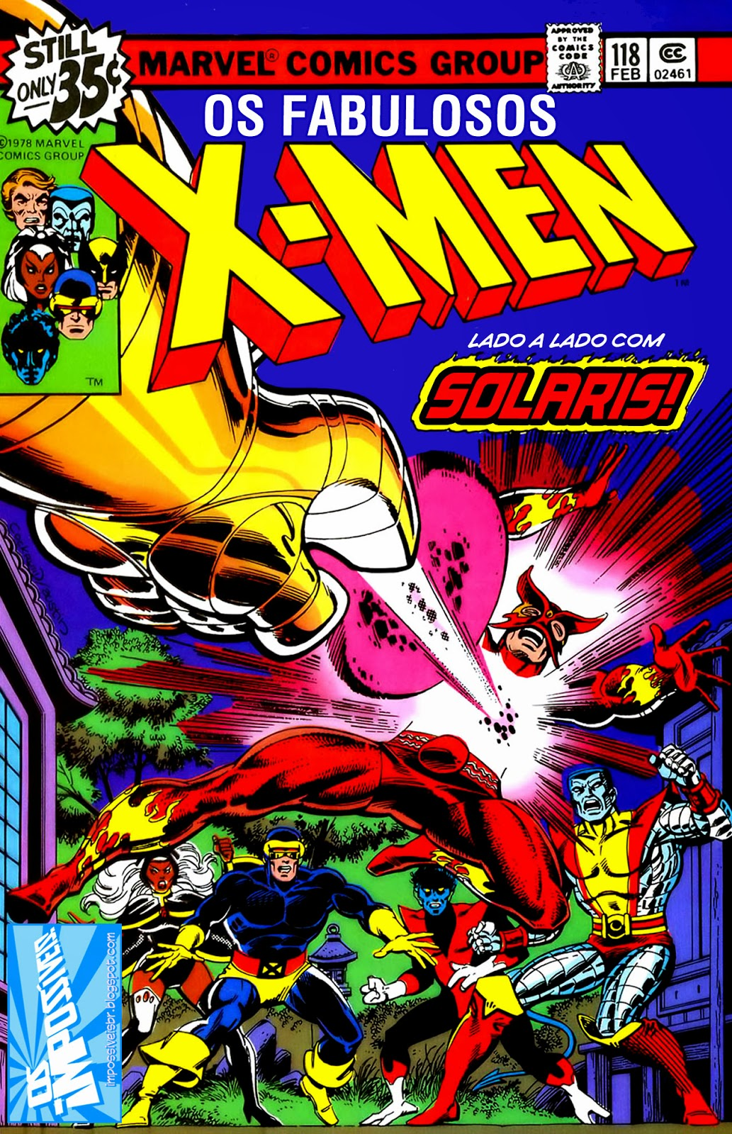 http://www.mediafire.com/download/hm08ojqo558yw28/Os.Fabulosos.X-Men.(X-Men.V1).118.HQBR.28OUT13.Os.Impossiveis.cbr