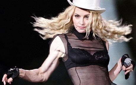Madonna reveals her protruding muscles and bulging veins | Daily ...