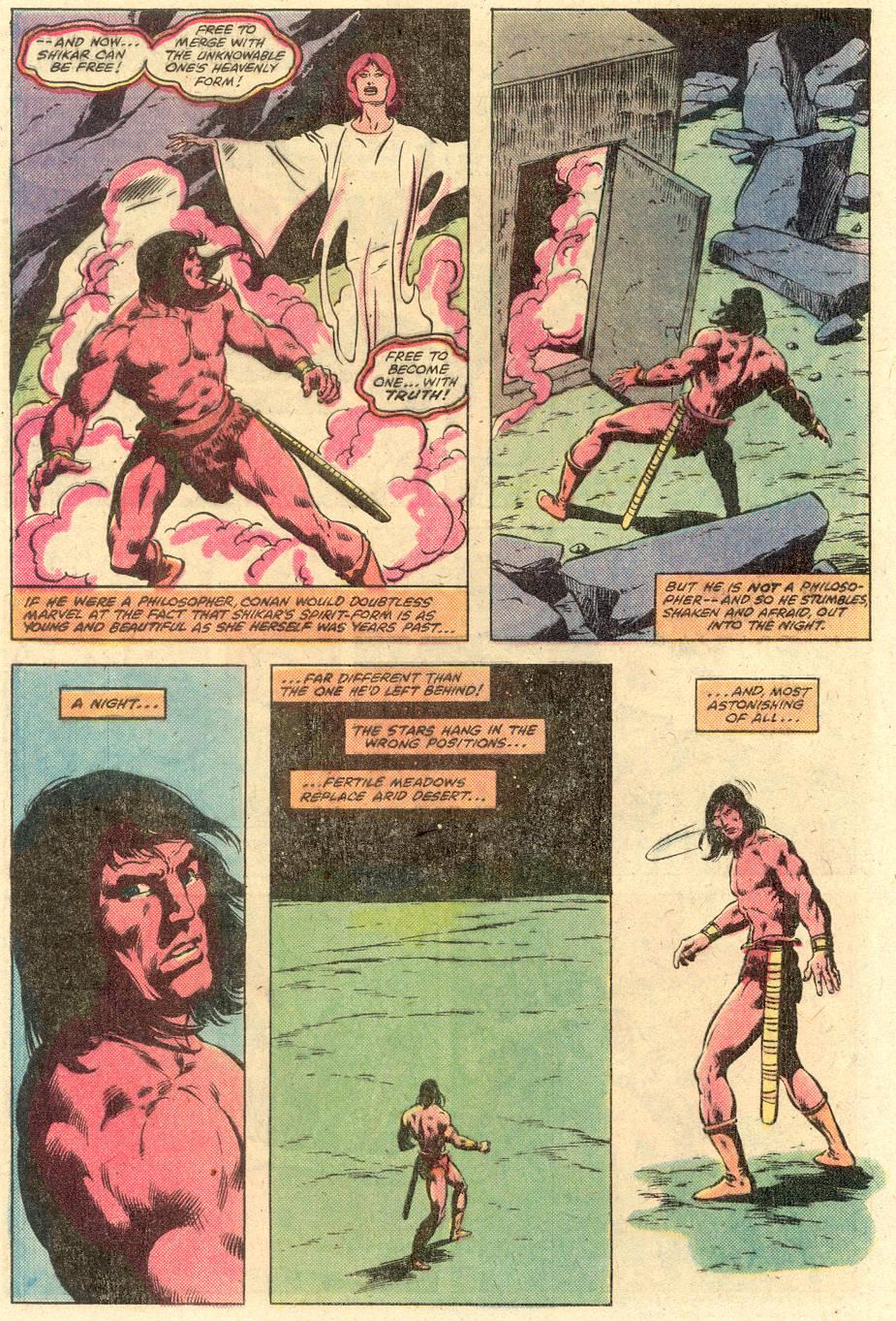 Conan the Barbarian (1970) Issue #126 #138 - English 22