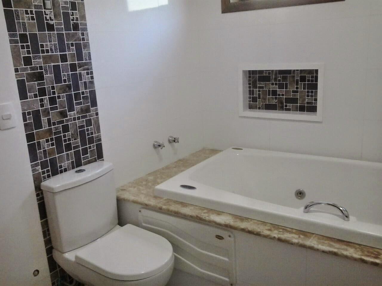 Azulejo Retificado c/ Pastilha #595045 1280x960 Banheiro Com Azulejo Retificado