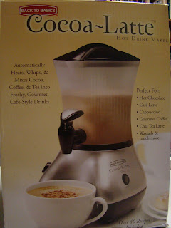 cocoa latte machine