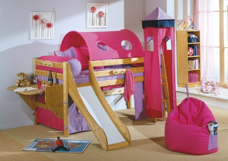 Fotos de camas infantiles originales y divertidas ideas for Imagenes de camas infantiles