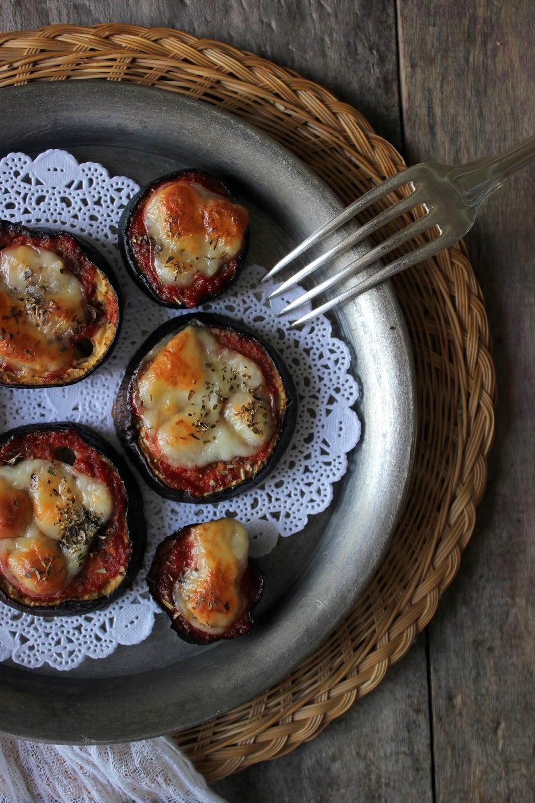 mini aubergine recept