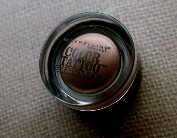 Maybelline Color Tattoo Cream Eye Shadow in Bad To The Bronze