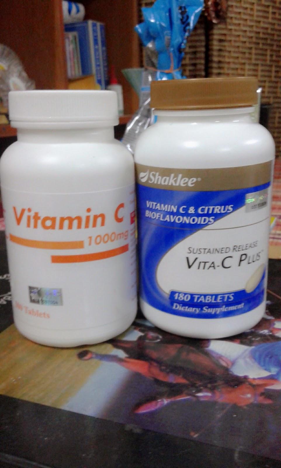 vitamin c shaklee,vitamin c pahang pharma, sskit scurvy, menghaluskan kulit,menghilangkan jerawat.