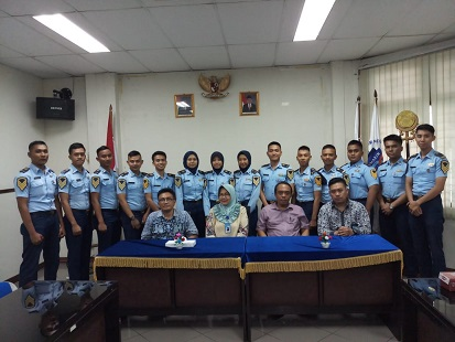 Pre-selection cadets di Polimarin Semarang tanggal 14 - 15 Feb 2019