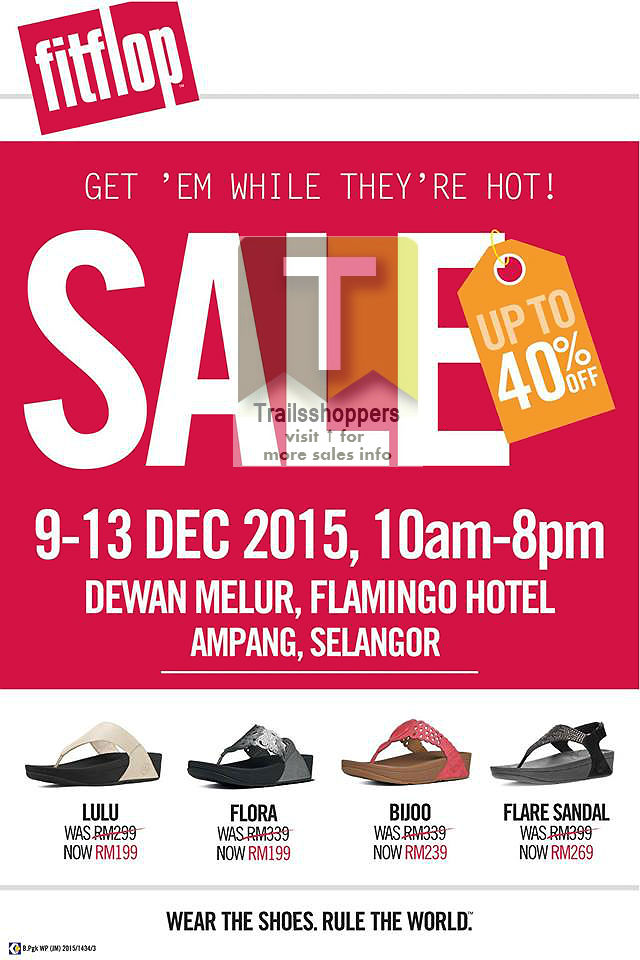 Fitflop Warehouse Sale 2015