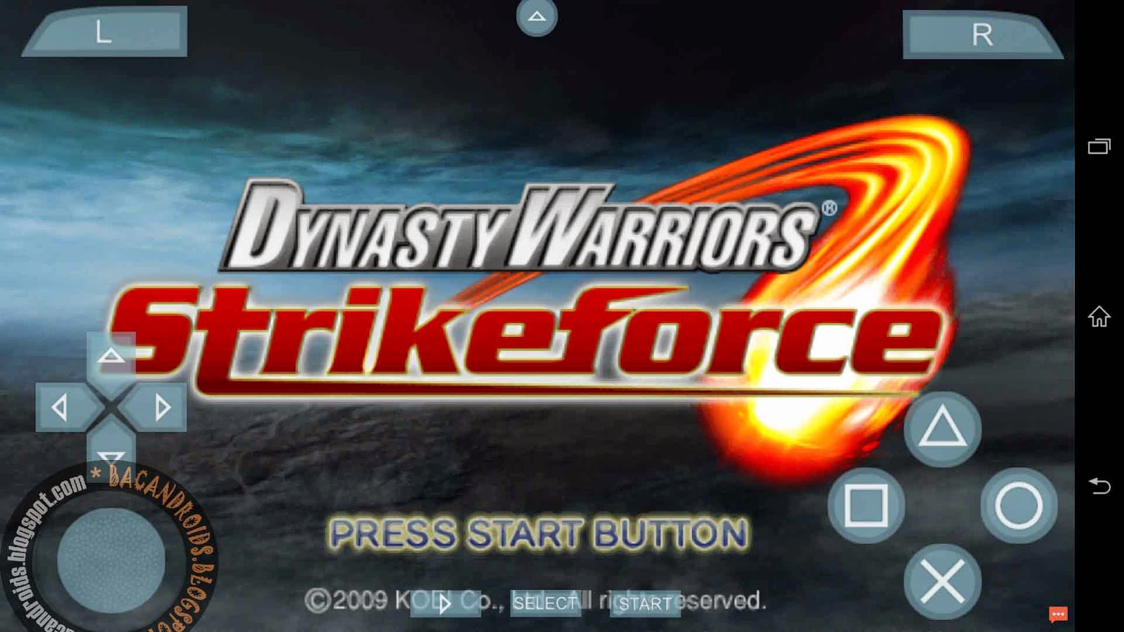 Download Game Dynasty Warriors  ISO For Psp Android