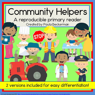 https://www.teacherspayteachers.com/Product/Community-Helpers-Primary-Reader-1948308