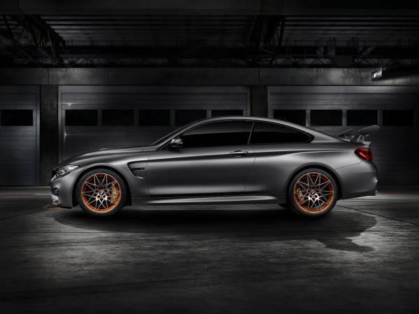 「BMW Concept M4 GTS」サイド画像