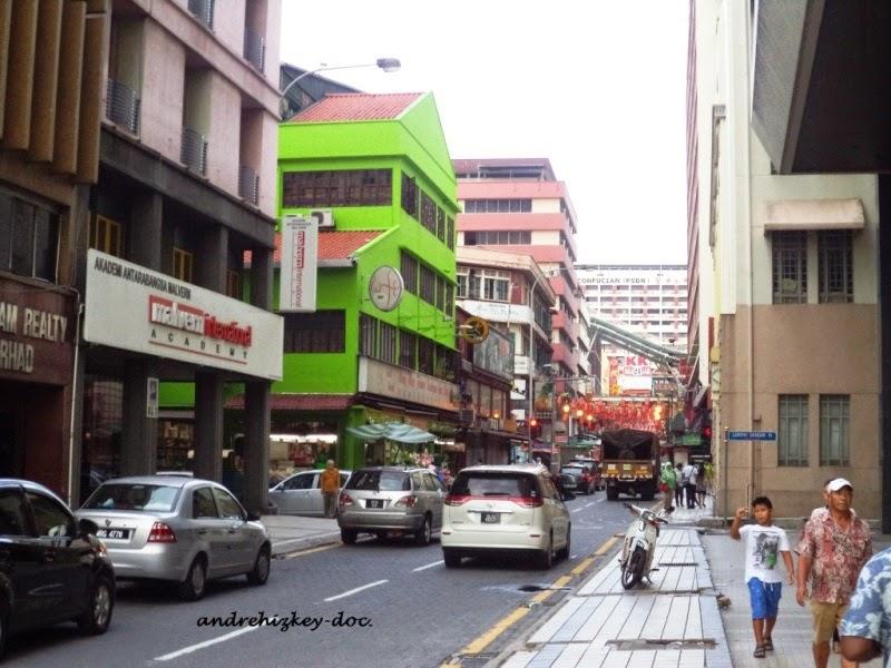 jalanan dan pedestrian di Kuala Lumpur