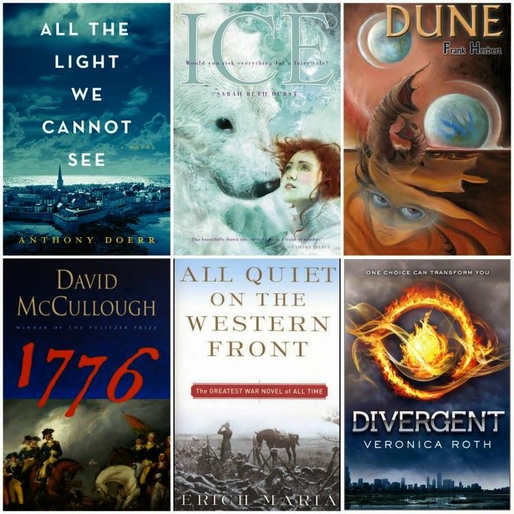 Summer 2015 Book List