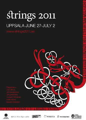 Welcome to Strings 2011 in Uppsala, Sweden!