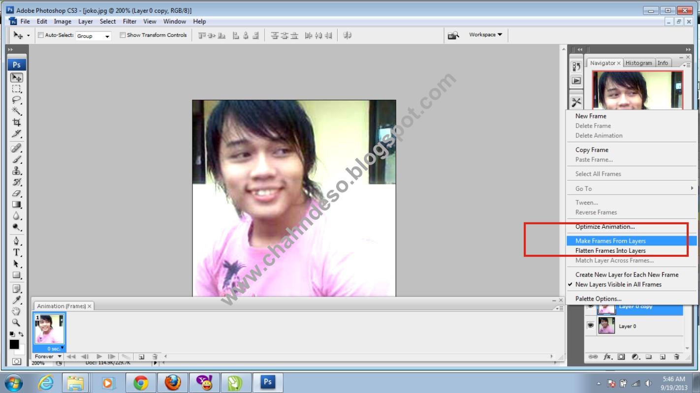 SIMPLE Cara Membuat DP BBM BLACKBERRY Animasi Bergerak Gambar GIF