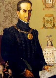 Retrato de Inca Garcilaso de la Vega