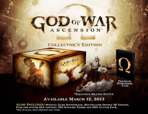 God of War: Ascension Collector's Edition Now Available For Pre-order