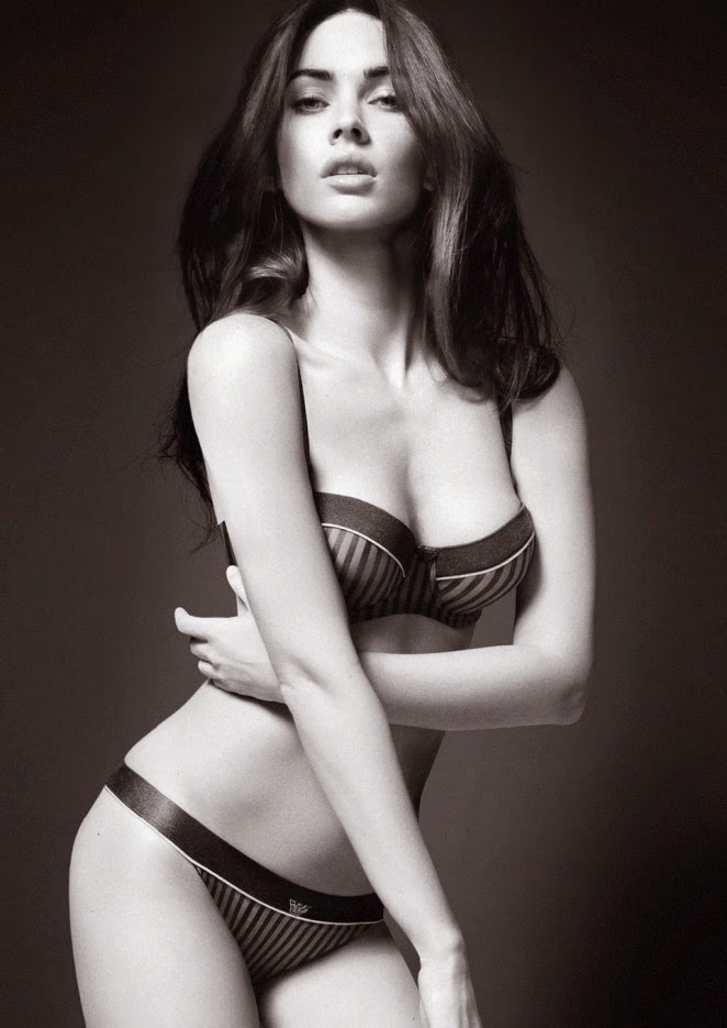 Megan Fox flaunts lingerie looks for Loaded Magazine October 2014