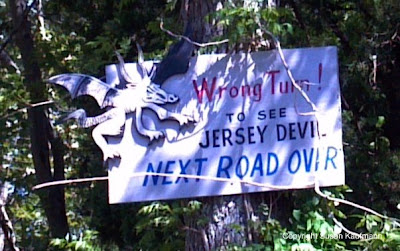 Jersey Devil sign Hidden NJ Leeds Point