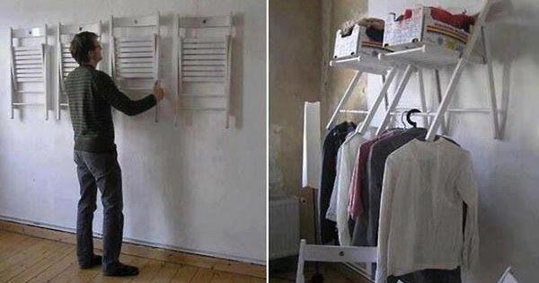Amazing Creativity Instant Closet Space With Mounted