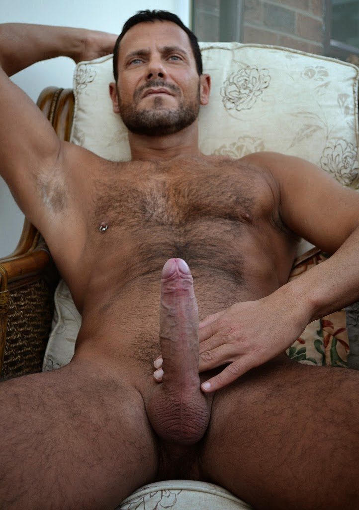 Naked tumblr handsome hairy men