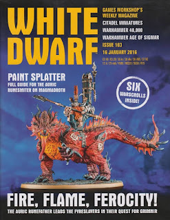White Dwarf 103 Magmadroth ya esta aquí con su Battletome