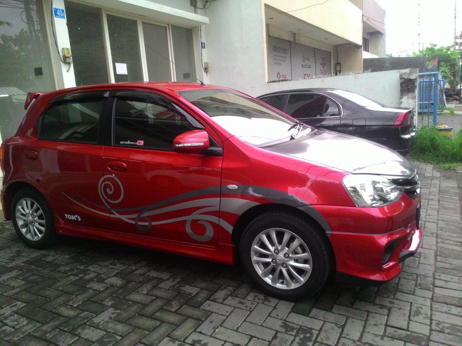 Modifikasi Mobil Avanza Merah Marun Modifikasi Style