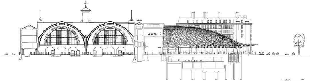 Architecture marion moissinac - Gare king cross londres ...