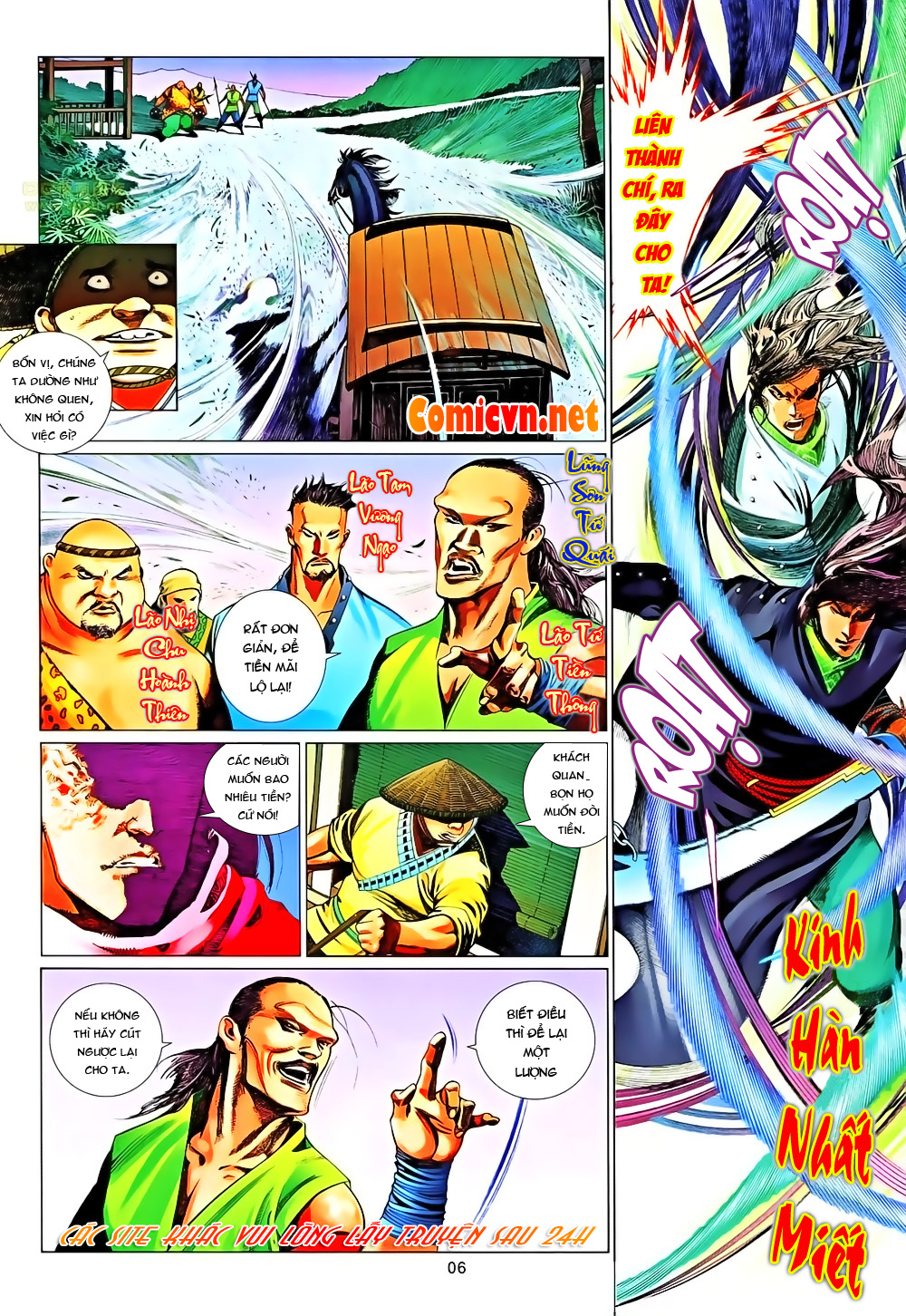 Phong Vân chap 651 Trang 6 - Mangak.info