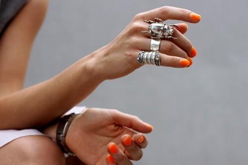 Wearing Lots of Jewelry