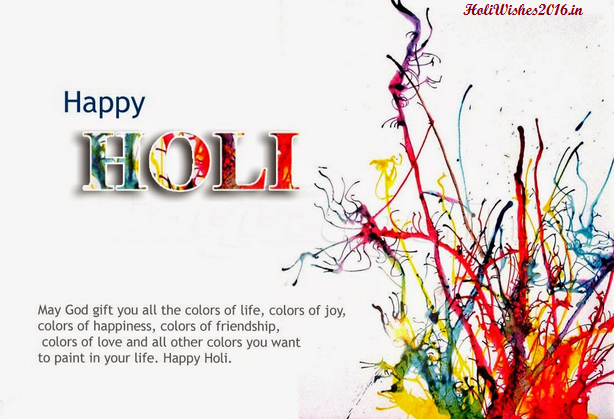 Whatsapp Images for Holi 2016